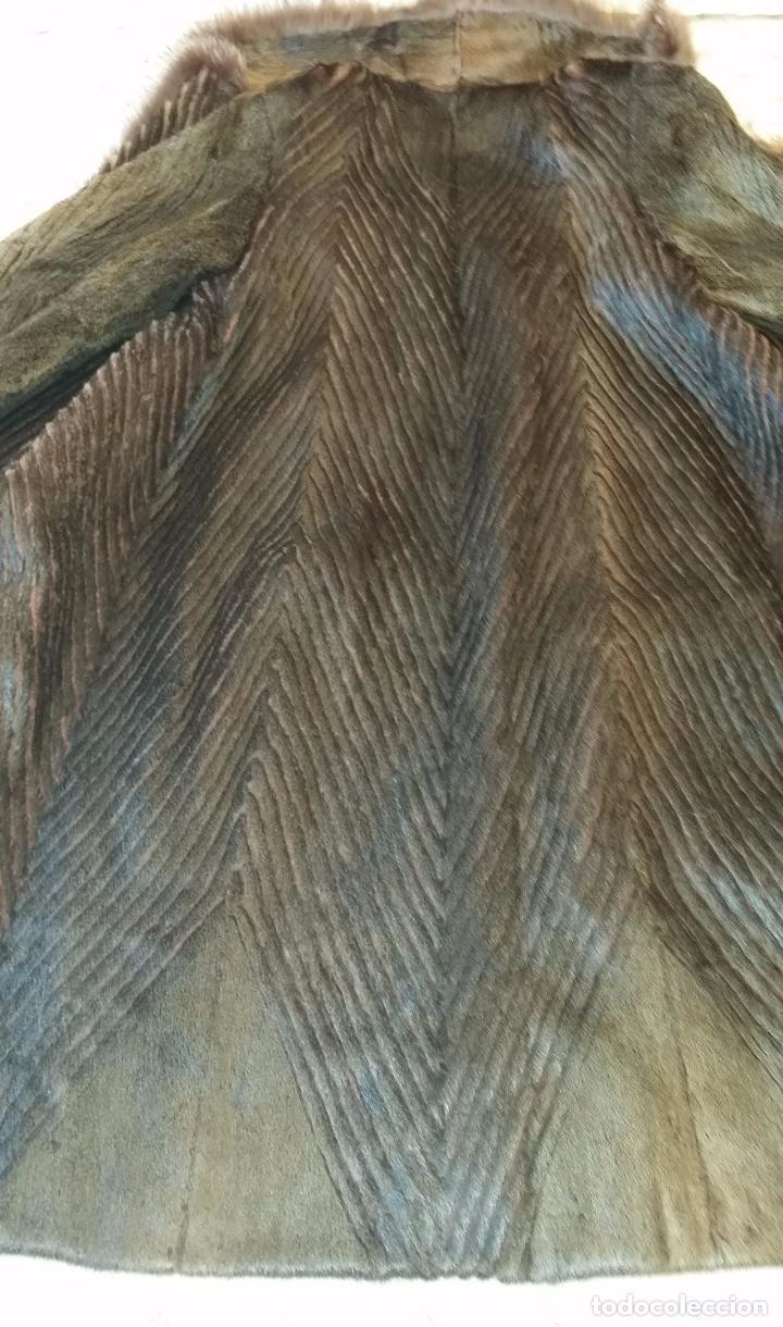 Antigüedades: Abrigo de piel natural - Foto 17 - 103674079