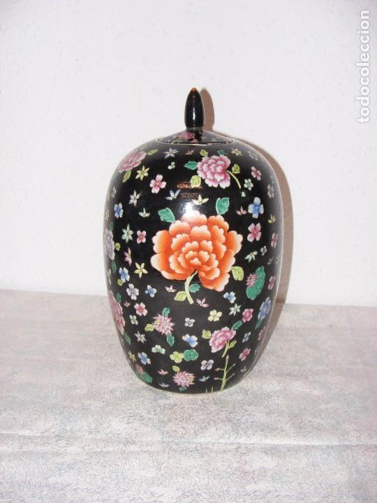 TIBOR FAMILIA NEGRA (Antigüedades - Porcelanas y Cerámicas - China)