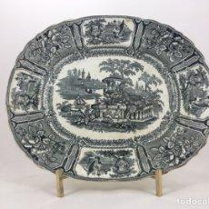 Antigüedades: FUENTE ANTIGUA DE CERÁMICA DE SARGADELOS. Lote 103766382