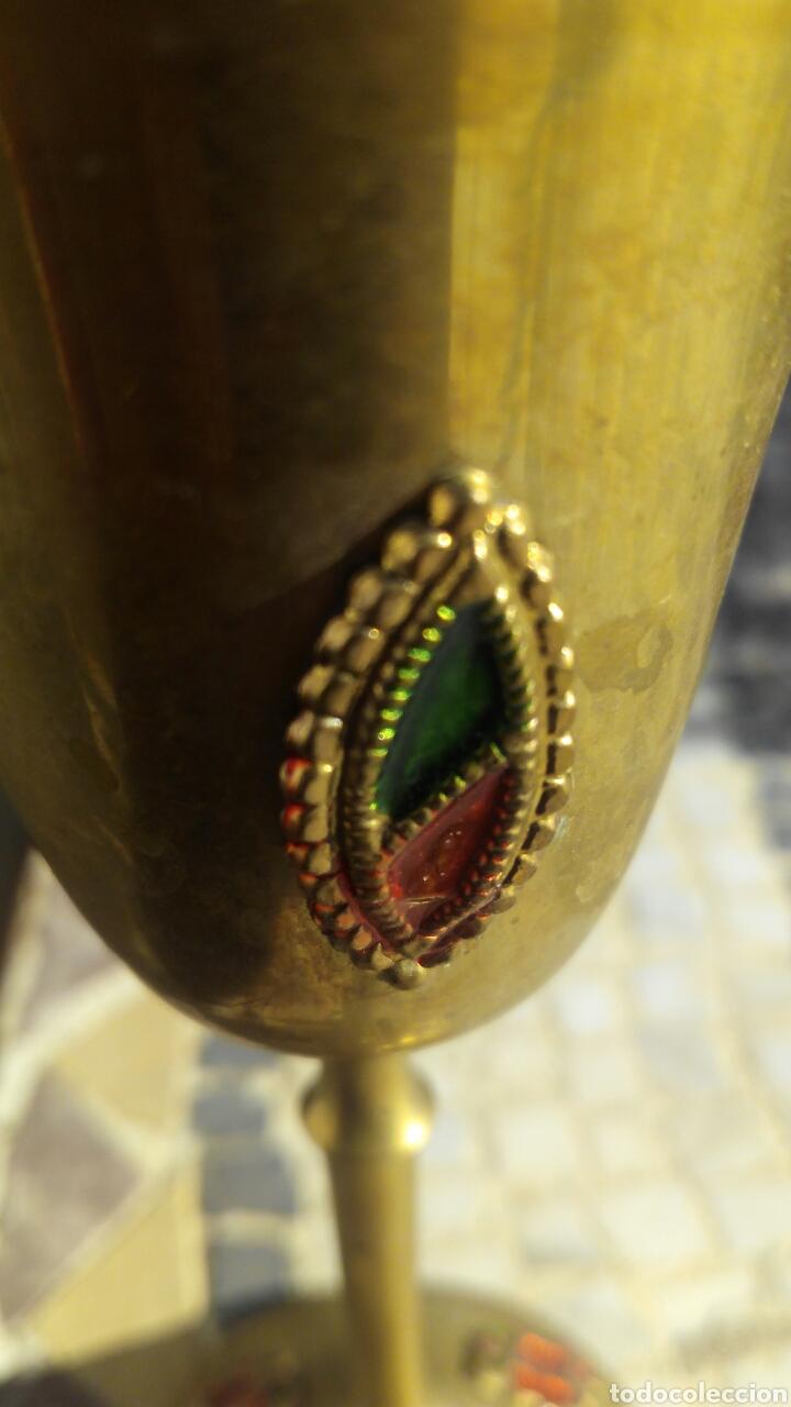 Antigüedades: 4 copas de metal - Foto 3 - 103768292