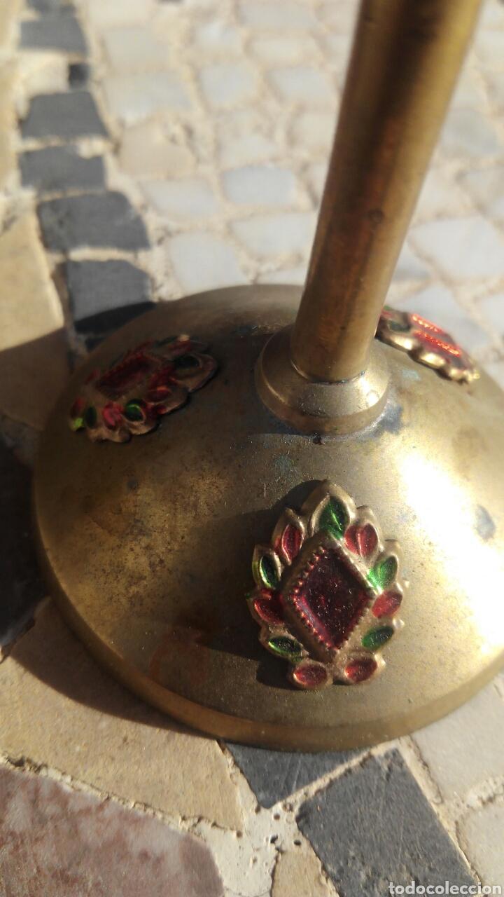 Antigüedades: 4 copas de metal - Foto 4 - 103768292