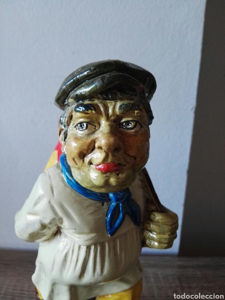 Antigüedades: Escultura figura lucavalli cerámica española - Foto 2 - 103772991