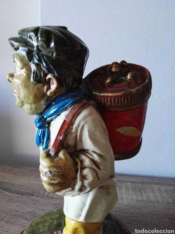 Antigüedades: Escultura figura lucavalli cerámica española - Foto 3 - 103772991