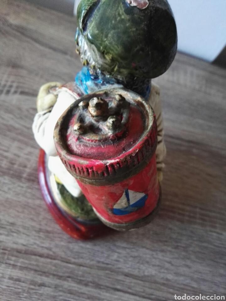 Antigüedades: Escultura figura lucavalli cerámica española - Foto 4 - 103772991