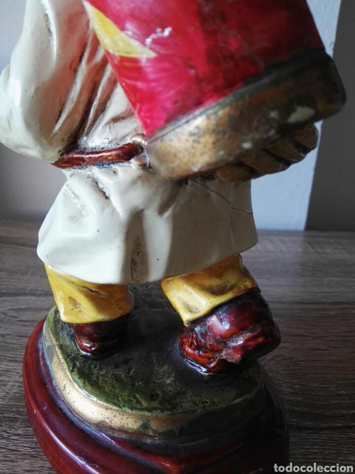 Antigüedades: Escultura figura lucavalli cerámica española - Foto 5 - 103772991