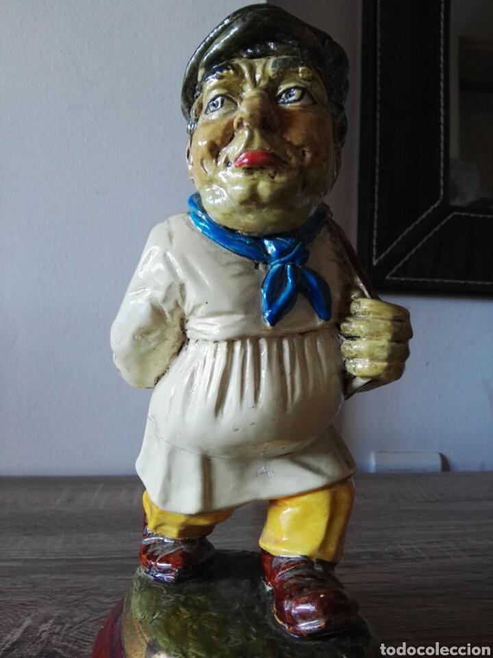 Antigüedades: Escultura figura lucavalli cerámica española - Foto 6 - 103772991