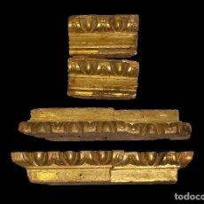 Antigüedades: MARAVILLOSAS PIEZAS DE RETABLO BARROCO, .. Lote 103782843