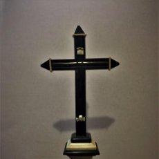Antigüedades: CRUZ DE MARMOL S. XVIII, ITALIANA. Lote 103786251