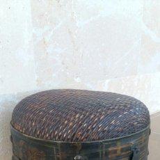 Antigüedades: ANTIGUO CESTO CHINO. Lote 103788890