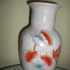 Antigüedades: JARRON GRANDE PORCELANA CHINA,SELLO EN LA BASE. Lote 103803223