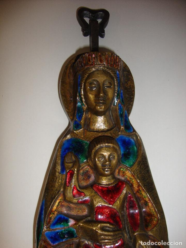 Antigüedades: AVE MARIA CON ESMALTES VER FOTOS - Foto 2 - 103815415