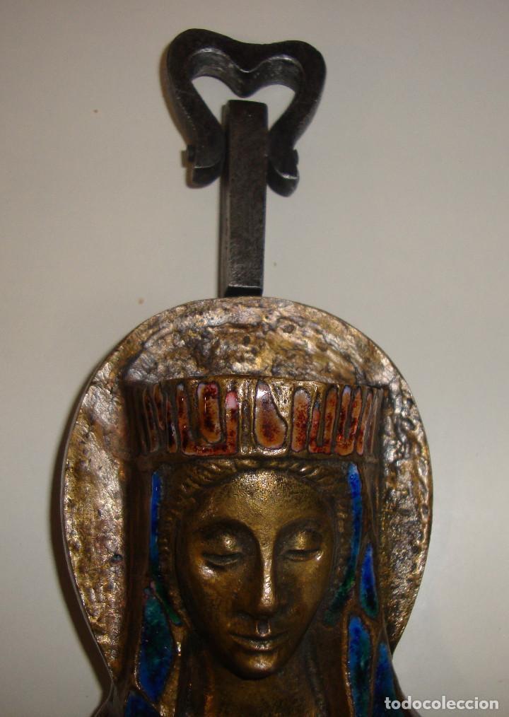 Antigüedades: AVE MARIA CON ESMALTES VER FOTOS - Foto 8 - 103815415