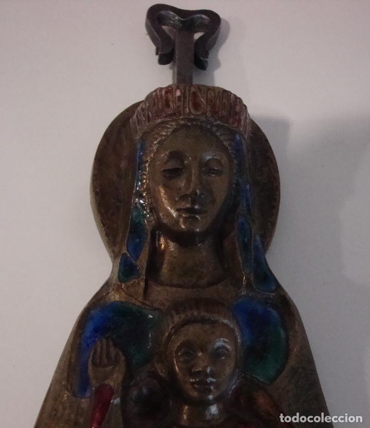 Antigüedades: AVE MARIA CON ESMALTES VER FOTOS - Foto 14 - 103815415