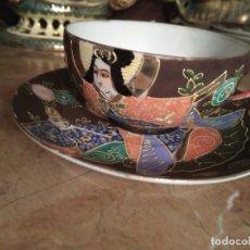 Antigüedades: 3 TAZITAS DE CAFE Y PLATITOS. Lote 103816479