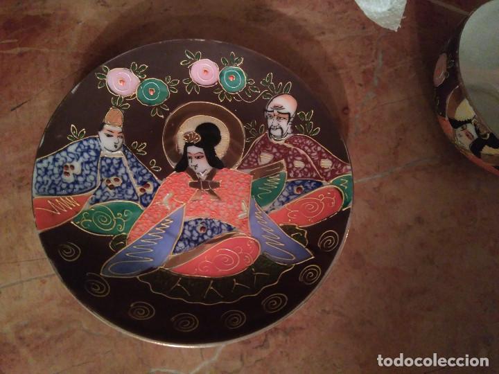 Antigüedades: 3 TAZITAS DE CAFE Y PLATITOS - Foto 4 - 103816479