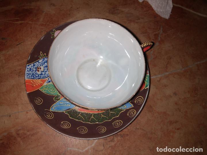 Antigüedades: 3 TAZITAS DE CAFE Y PLATITOS - Foto 6 - 103816479