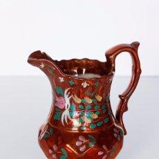 Antigüedades: JARRA REFLEJOS BRISTOL FINALES DEL SIGLO XIX. Lote 103833715