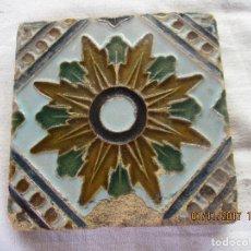 Antigüedades: AZULEJO DE TRIANA SIGLO XIX. Lote 103836495