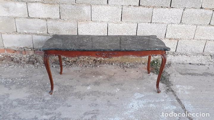 Mesa de centro de sal n antigua de m rmol estil comprar for Mesas de centro antiguas