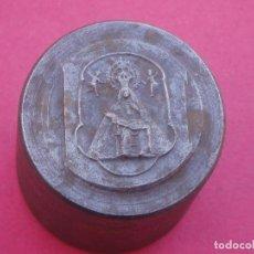 Antigüedades: RARA MATRÍZ ANTIGUA MEDALLA VIRGEN DE AFRICA PATRONA DE CEUTA.. Lote 103845087