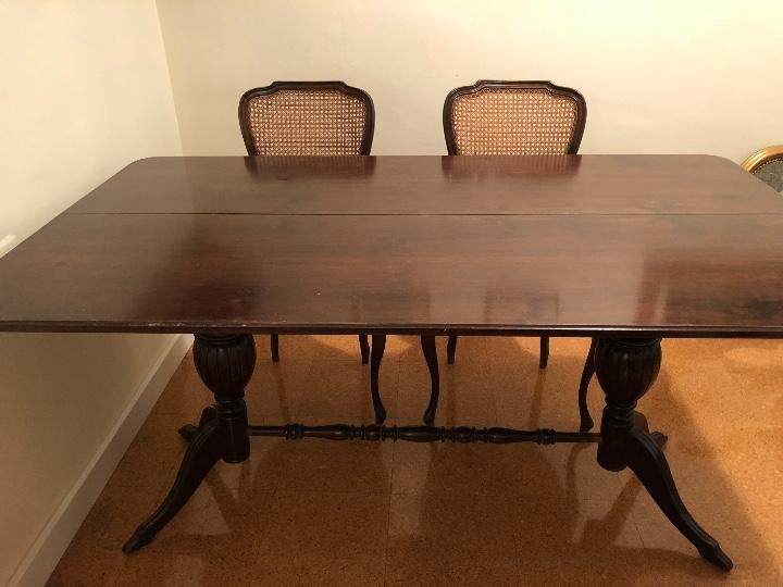 mesa comedor de madera - Comprar Mesas Antiguas en todocoleccion ...