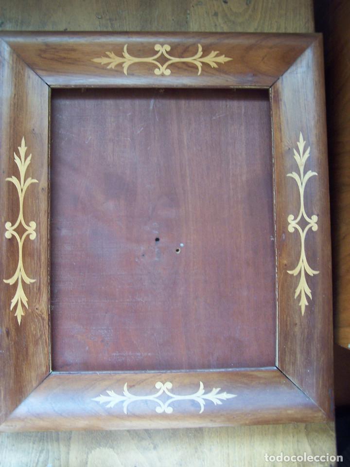 marco de madera taraceado con panel trasero de - Comprar Marcos ...