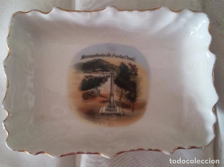 BANDEJA PORCELANA (Antigüedades - Porcelana y Cerámica - Alemana - Meissen)