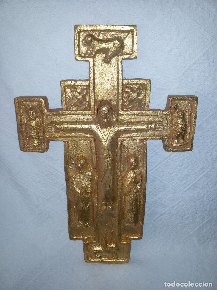 Antigüedades: CRUZ ROMÁNICA-ARTESANÍA - Foto 2 - 103888751