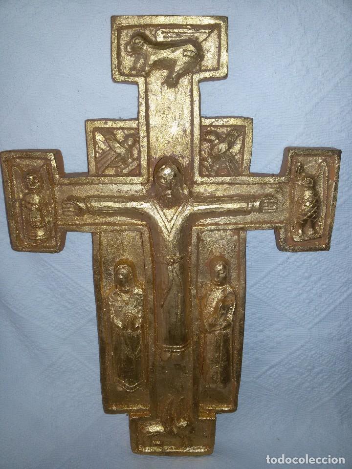 Antigüedades: CRUZ ROMÁNICA-ARTESANÍA - Foto 3 - 103888751