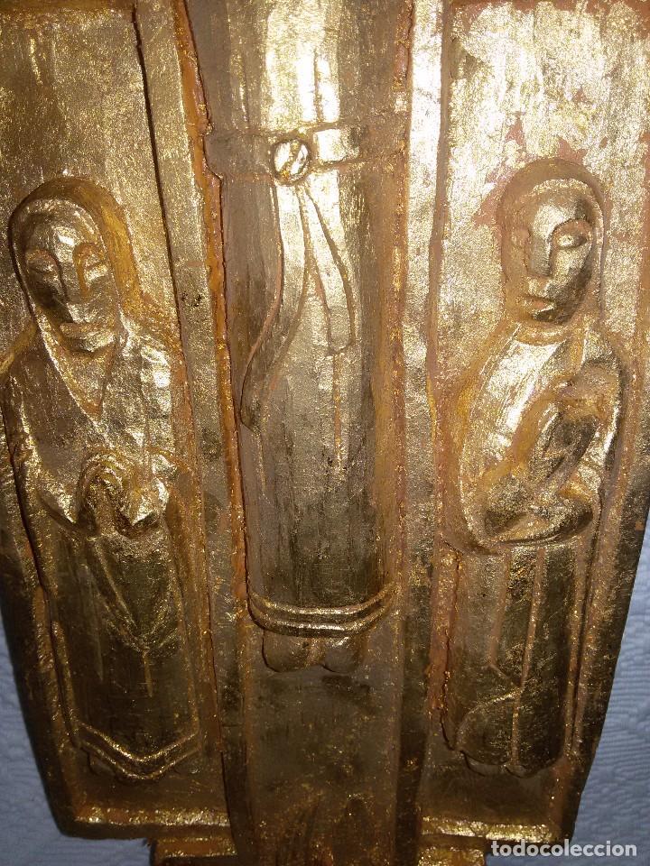 Antigüedades: CRUZ ROMÁNICA-ARTESANÍA - Foto 7 - 103888751