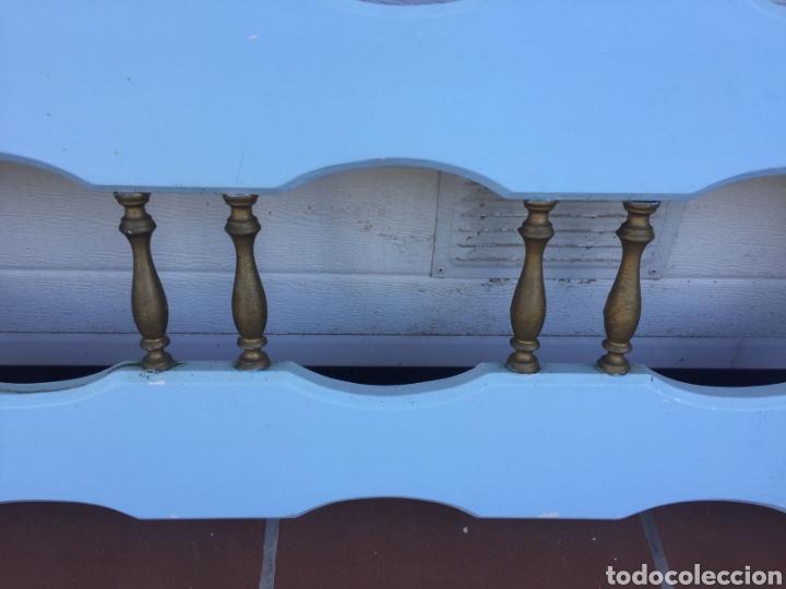 Antigüedades: CABECERO CAMA CASTELLANO - Foto 2 - 103890687