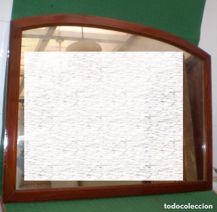 antiguo espejo con marco de madera mobila vieja - Comprar Espejos ...