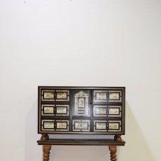 Antigüedades: BARGUEÑO ANTIGUO DE MADERA. Lote 103912167