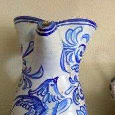 Antigüedades: ANTIGUA JARRA CERAMICA. ALTURA 26 CM. PUENTE DEL ARZOBISPO.. Lote 103917403