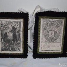 Antigüedades: ESCAPULARIO DE SAN FRANCISCO . Lote 103977155