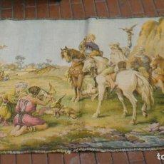 Antigüedades: TAPIZ CONFECCION MECANICA PRINCIPIOS SIGLO XX MOTIVOS ARABES. Lote 103995703