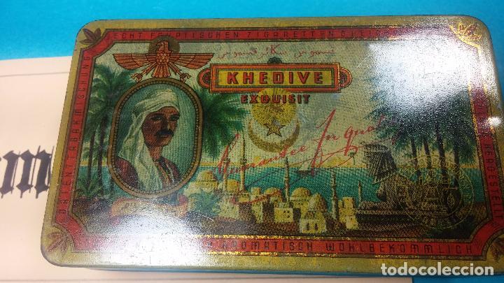 Antigüedades: Bonita caja o cajita antigua de chapa, no sé de qué era - Foto 16 - 103999051