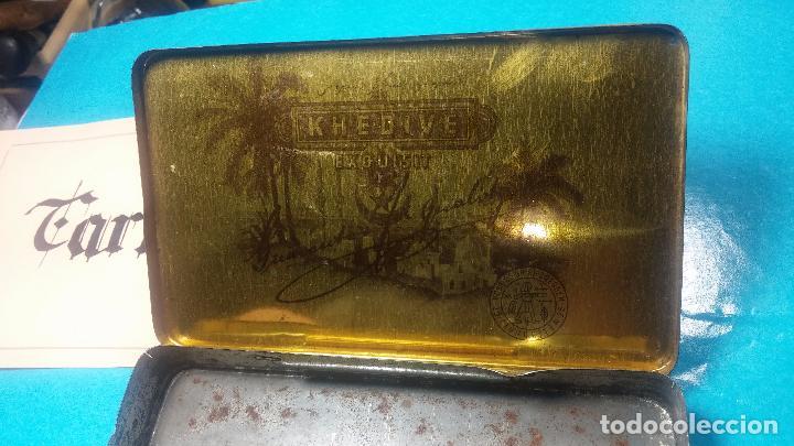 Antigüedades: Bonita caja o cajita antigua de chapa, no sé de qué era - Foto 20 - 103999051