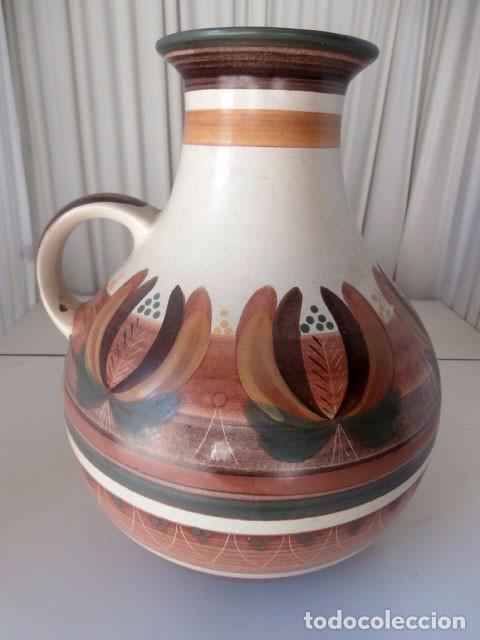 JARRÓN GRANDE CERAMICA VAELNCIANA PORTA CELI (Antigüedades - Porcelanas y Cerámicas - Otras)