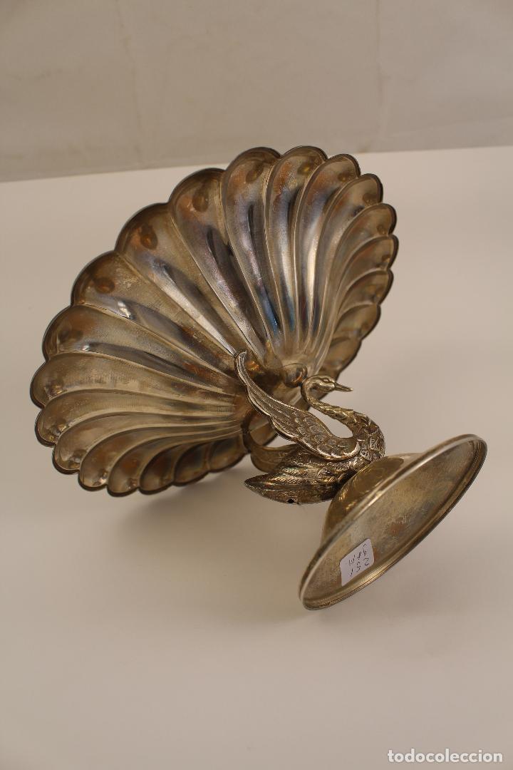 Antigüedades: centro de mesa, frutero en plata maciza de ley 925milesimas - Foto 6 - 117599560
