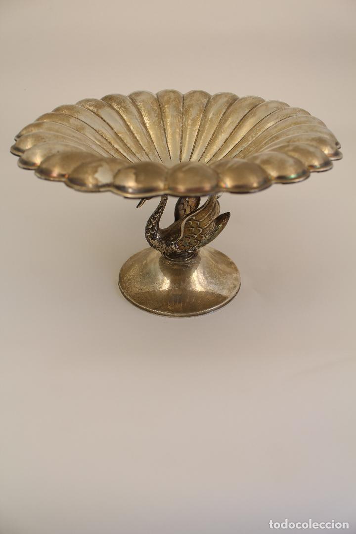 Antigüedades: centro de mesa, frutero en plata maciza de ley 925milesimas - Foto 8 - 117599560