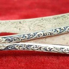 Antigüedades: PINZAS PARA PASTELES. PLATA. ESTILO MODERNISTA. SIGLO XX.. Lote 103699383
