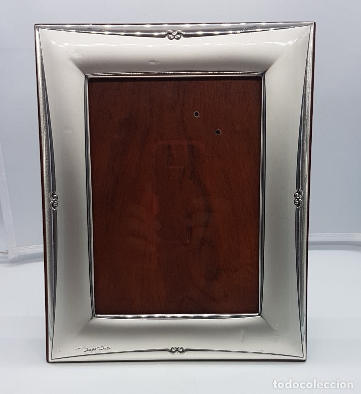 gran marco portafotos en madera y plata de ley - Comprar Portafotos ...