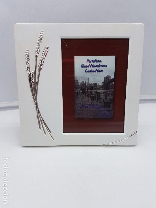 original marco portafotos con detalles de trigo - Comprar Portafotos ...