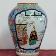 Antigüedades: JARRON EN PORCELANA JAPONESA EPOCA MEIJI. Lote 104025855