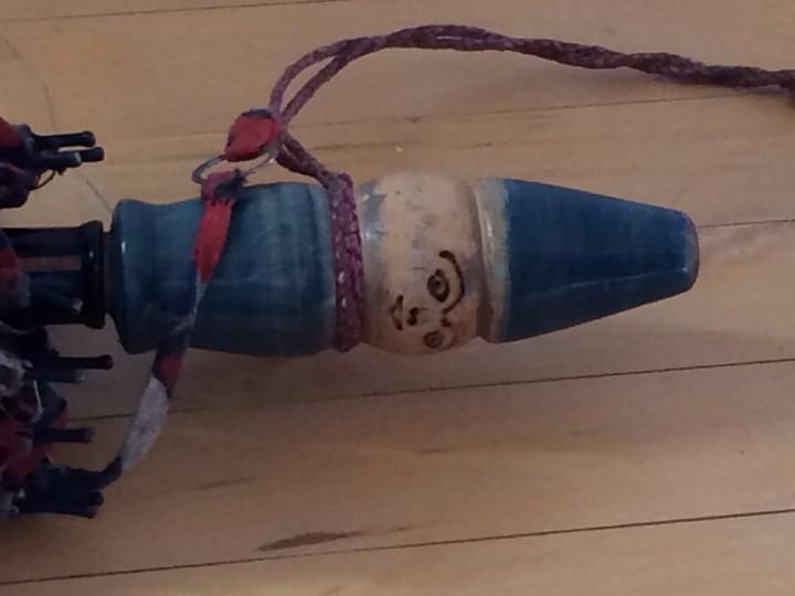 Antigüedades: SOMBRILLA INFANTIL, AÑOS 20 - Foto 4 - 103881775