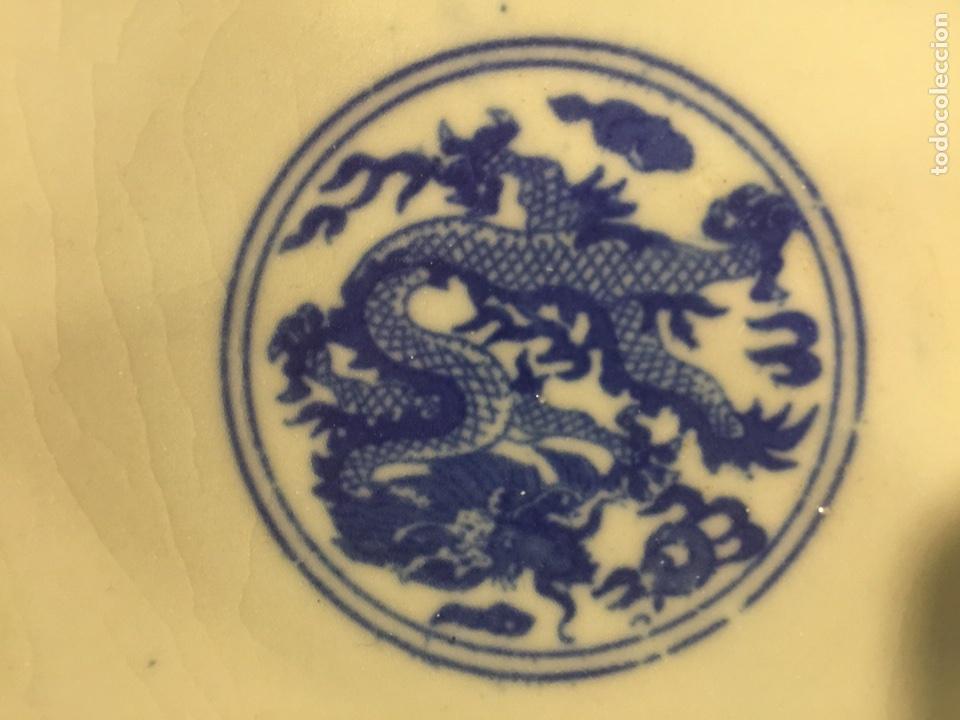 Antigüedades: Pareja de cuencos de porcelana china. - Foto 9 - 104042247