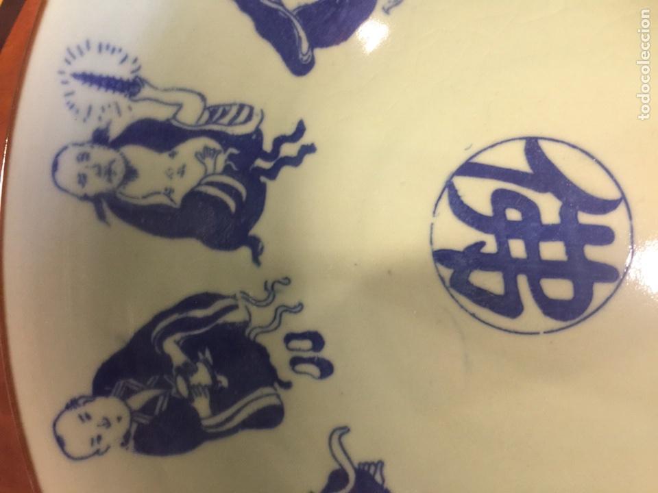 Antigüedades: Pareja de cuencos de porcelana china. - Foto 10 - 104042247