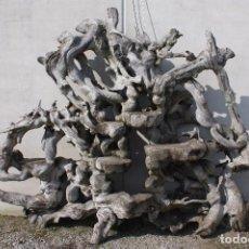 Antigüedades: JARDINERA DE INDONESIA EN MADERA. Lote 104053191