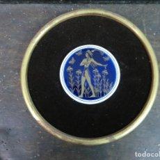 Antigüedades: MARCO CON ESMALTE DE LOS AÑOS 70. Lote 104071215